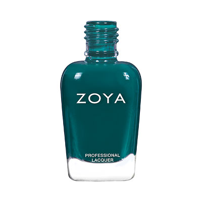 Zoya Nail Polish - Danica - ZP973 - teal, green, blue, Cream, Cool
