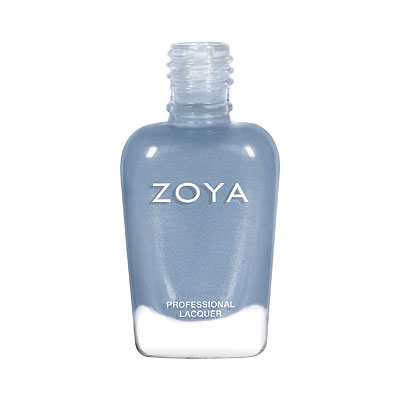 Zoya Nail Polish - Darby - ZP928 -  Blue, Metallic, Cool