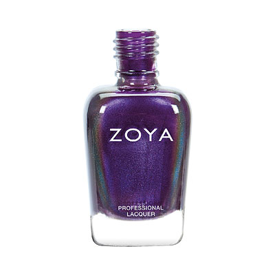Zoya Nail Polish - Delaney - ZP919 - Purple, Multi Chrome, Cool