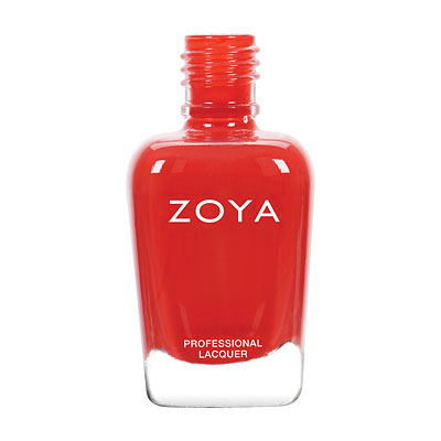 Zoya Nail Polish - Demetria - ZP801 - Red, Cream, Warm