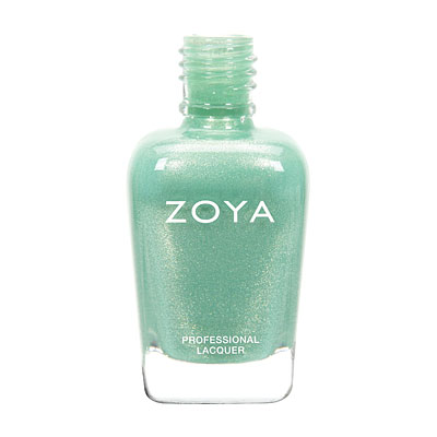 Zoya Nail Polish - Dillon - ZP723 - Green, Metallic, Warm