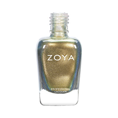 Zoya Nail Polish - Gal - ZP915 - Gold, Metallic, Warm