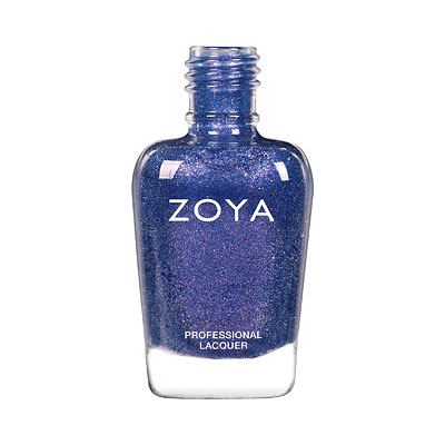 Zoya Nail Polish - Gardner - ZP963 - blue, purple, Metallic, Cool
