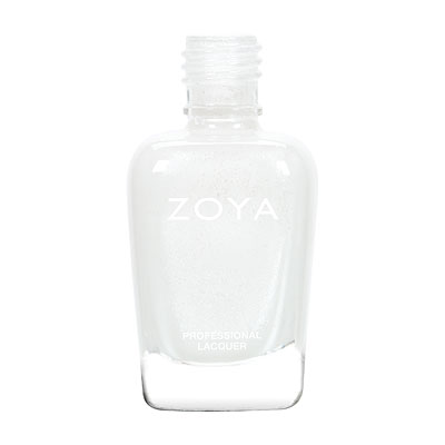 Zoya Nail Polish - Genesis - ZP790 - White, Metallic, Cool