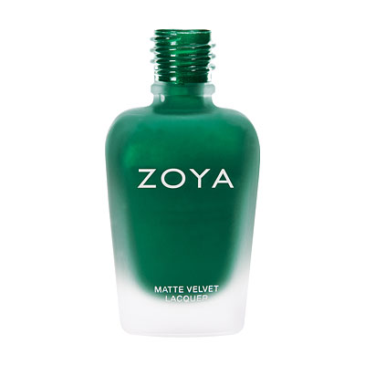 Zoya Nail Polish - Honor MatteVelvet - ZP819 - Green, Matte, Cool