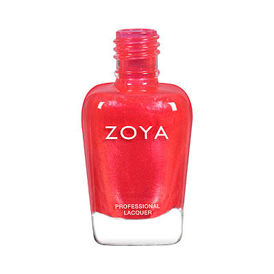 Zoya Nail Polish - Journey - ZP900 - Red, Shimmer, Cool