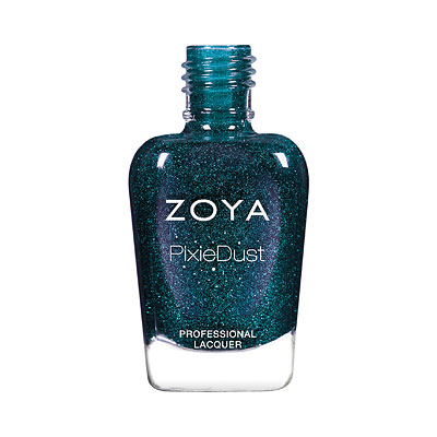 Zoya Nail Polish - Juniper - ZP974 - teal, green, blue, Cool