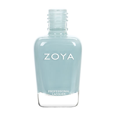 Zoya Nail Polish - Lake - ZP828 - Blue, Cream, Cool