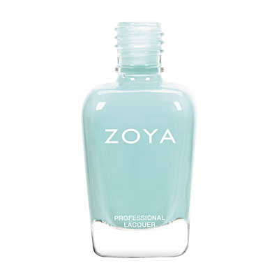 Zoya Nail Polish - Lillian - ZP773 - Blue, Cream, Cool