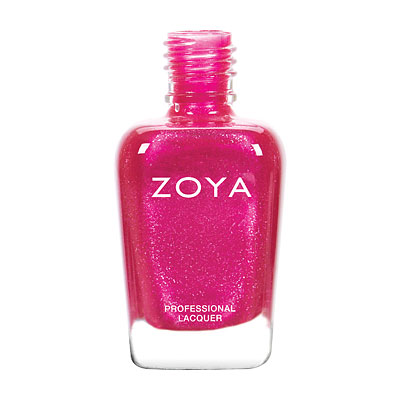 Zoya Nail Polish - Mae - ZP794 - Pink, Metallic, Warm