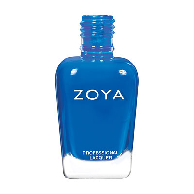 Zoya Nail Polish - Mallory - ZP853 - Blue, Cream, Cool