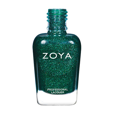 Zoya Nail Polish - Merida - ZP861 - Green, Holographic, Warm