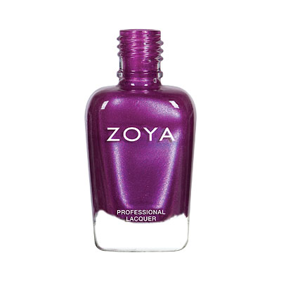 Zoya Nail Polish - Millie - ZP889 - Purple, Micro-Sparkle, Cool