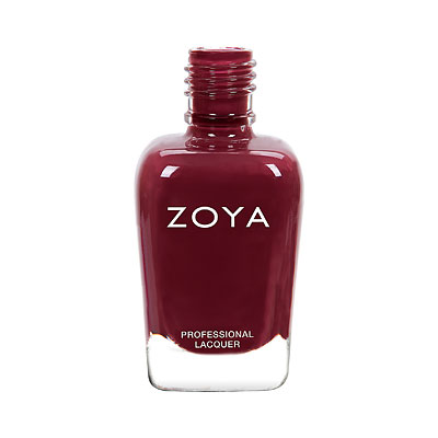 Zoya Nail Polish - Mona - ZP911 - Plum, Purple, Cream, Cool
