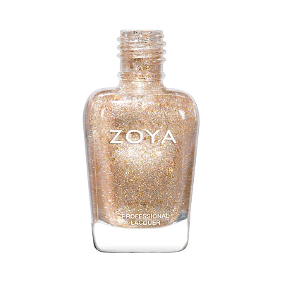 Zoya Nail Polish - Nahla - ZP951 - Gold, Topper, Iridescent, Warm
