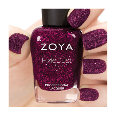 Zoya Nail Polish in Noir Ultra PixieDust - Textured alternate view 2 (alternate view 2 full size)