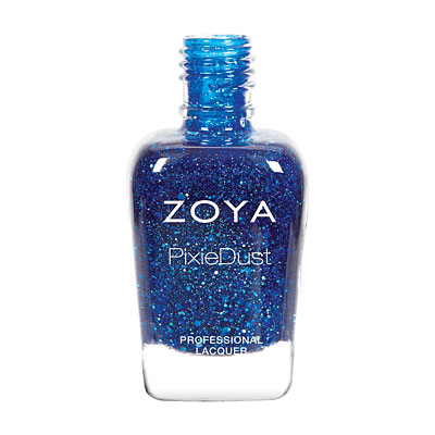 Zoya Nail Polish - Nori - ZP766 - Blue, PixieDust - Textured, Cool
