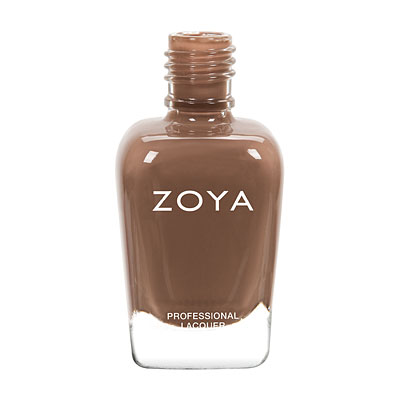 Zoya Nail Polish - Nyssa - ZP748 - Brown, Nude, Cream, Cool