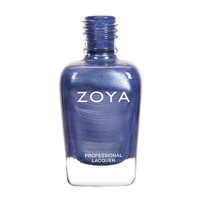 Zoya Nail Polish - Prim - ZP769 - Blue, Metallic, Cool