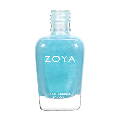 Zoya Nail Polish - Rayne - ZP772 - Blue, Metallic, Cool