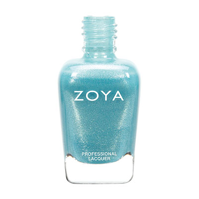 Zoya Nail Polish - Rebel - ZP724 - Blue, Metallic, Cool