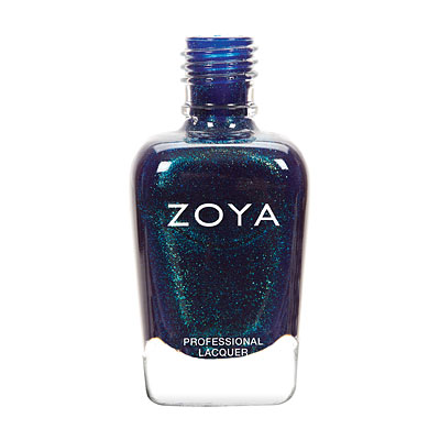 Zoya Nail Polish - Remy - ZP758 - Blue, Metallic, Warm