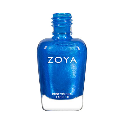 Zoya Nail Polish - River - ZP898 - Blue, Shimmer, Cool