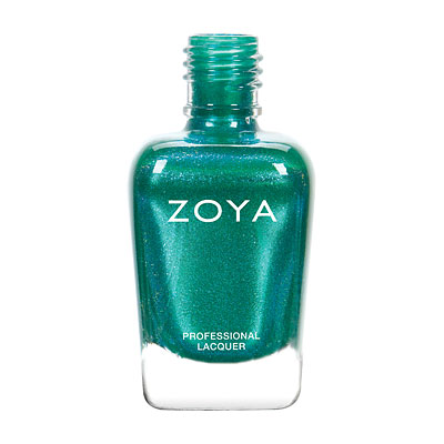 Zoya Nail Polish - Selene - ZP791 - Green, Blue, Metallic, Warm