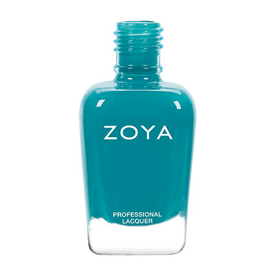 Zoya Nail Polish - Talia - ZP798 - Blue, Green, Teal, Cream, Cool