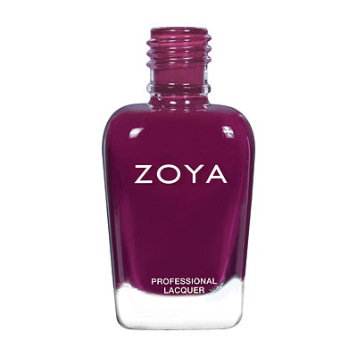 Zoya Nail Polish - Tara - ZP857 - Purple,Red,Plum, Cream, Cool