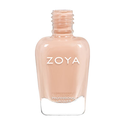 Zoya Nail Polish - Tatum - ZP877 - Nude, Cream, Warm-Neutral