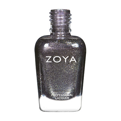 Zoya Nail Polish - Troy - ZP864 - Grey, Silver, Metallic, Neutral