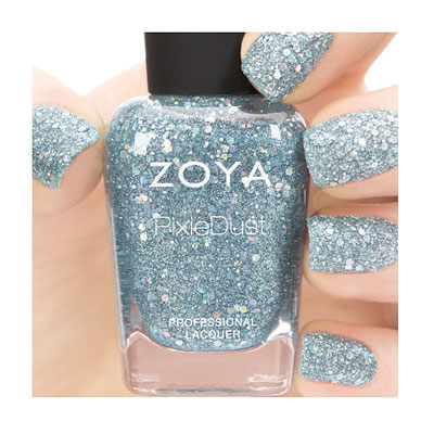 Zoya Nail Polish in Vega - Magical PixieDust - Textured alternate view 2 (alternate view 2 full size)