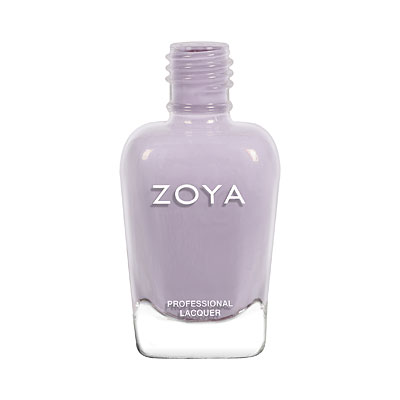 Zoya Nail Polish - Vickie - ZP934 - Grey, Purple, Jelly, Cool