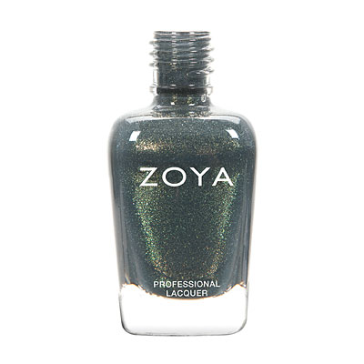Zoya Nail Polish - Yuna - ZP759 - Grey, Green, Metallic, Warm
