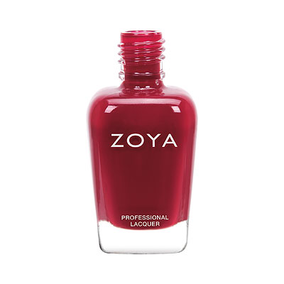 Zoya Nail Polish - Yvonne - ZP910 - Red, Cream, Cool