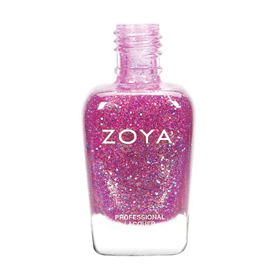 Zoya Nail Polish - Binx - ZP739 - Purple, Glitter, Jelly, Cool