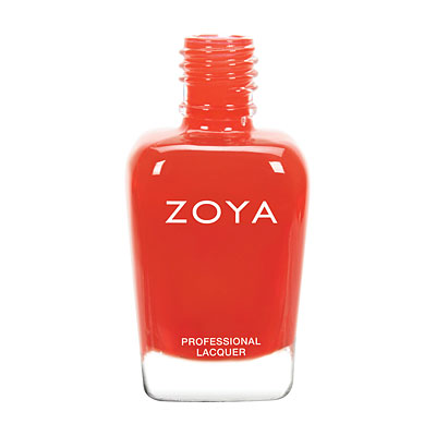 Zoya Nail Polish - Rocha - ZP735 - Red, Cream, Warm
