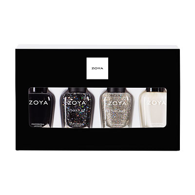 ZPHOL1706QUAD Zoya Polish Quad: Winter Wishes holiday holliday gift sets stocking stuffers (main image full size)