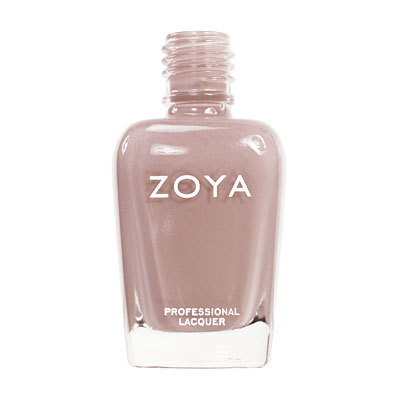 Zoya Nail Polish ZP380  Amanda  Brown Nail Polish Cream Nail Polish