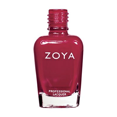 Zoya Nail Polish - Andi - ZP424 - Red, Cream, Cool