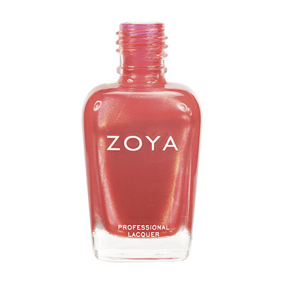 Zoya Nail Polish - Annie - ZP448 - Orange, Metallic, Warm