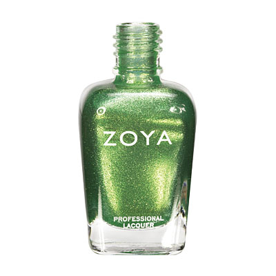 Zoya Nail Polish - Apple - ZP548 - Green, Metallic, Warm