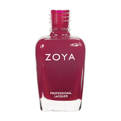 Zoya Nail Polish ZP450  Asia  Red Nail Polish Cream Nail Polish