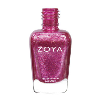 Zoya Nail Polish - Bobbi - ZP672 - Pink, Metallic, Warm, Cool