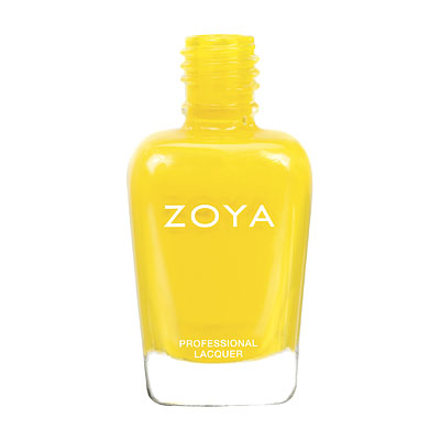 Zoya Nail Polish ZP663  Darcy  Yellow Nail Polish Cream Nail Polish