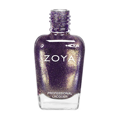 Zoya Nail Polish - Daul - ZP637 - Purple, Metallic, Cool