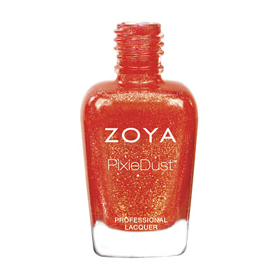 Zoya Nail Polish ZP676 Zoya PixieDust - Textured Nail Polish Desty  Red Coral Nail Polish PixieDust - Textured Nail Polish