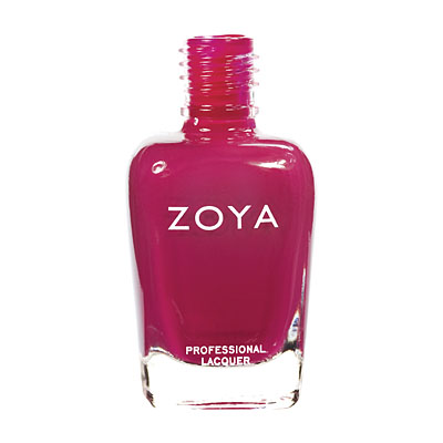 Zoya Nail Polish ZP475  Dita  Red Nail Polish Cream Nail Polish