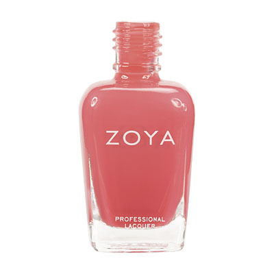 Zoya Nail Polish - Elodie - ZP441 - Pink, Orange, Coral, Cream, Warm